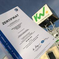 KW Energie ist jetzt ISO zertifiziert